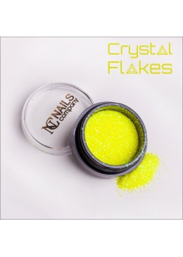 Crystal Flakes Yellow