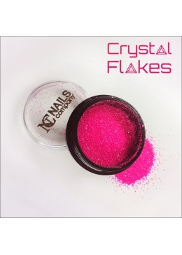 Crystal Flakes Neon Pink