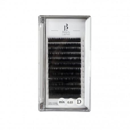 Beauty Lashes Mix 0.03 D