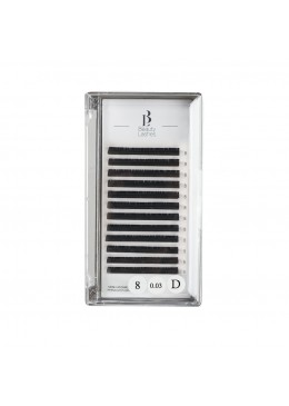 Beauty Lashes 0.03 D taille 8