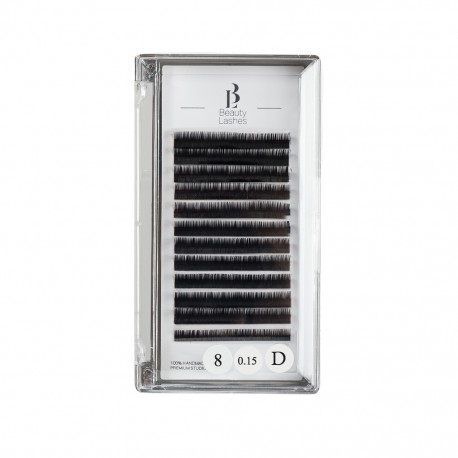 Beauty Lashes 0.15 D taille 8