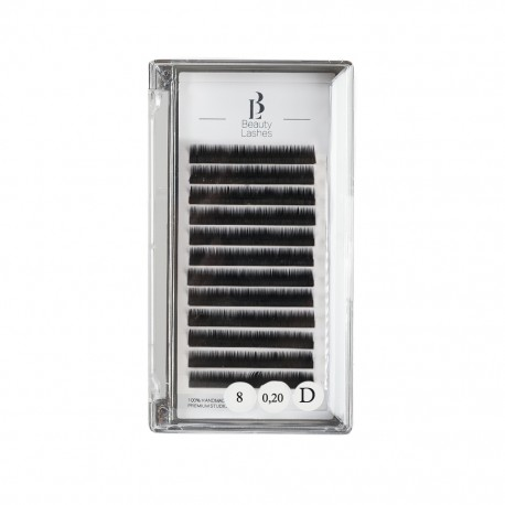 Beauty Lashes 0.20 D taille 8