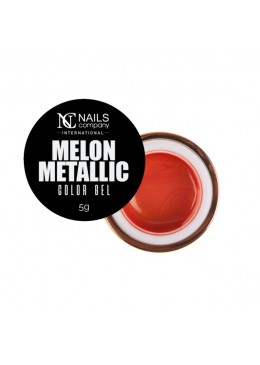 color gel melon metallic