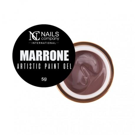 artistic paint gel MARRONE 5ml