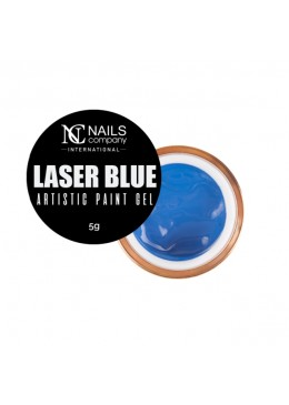 artistic paint gel LASER BLUE 5ml