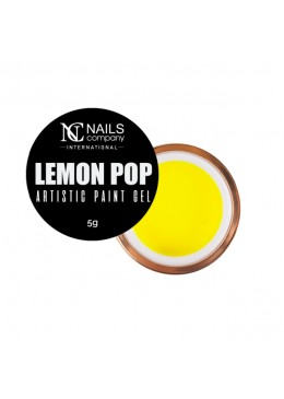 artistic paint gel LEMON POP 5ml