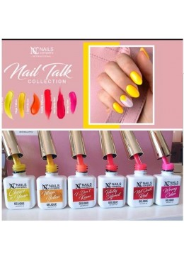 Collection Nail Talk 6 couleurs