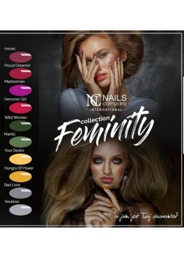 Collection Feminity10 couleurs
