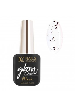 Glam Flakes Black 6ml