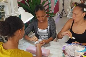 LMC Nails Nails Company distributrice Guadeloupe Martinique
